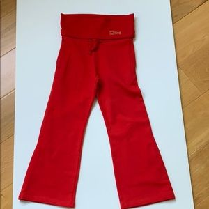 GUC DKNY Girls Red Pants Size 6